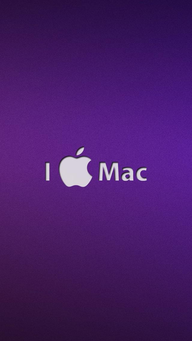 苹果标志 苹果壁纸 苹果手机高清壁纸 640x1136