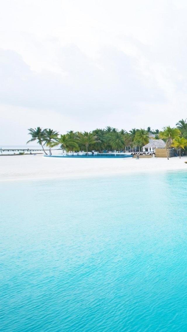风景高清壁纸10277556 大海沙滩 风景壁纸 苹果手机 x