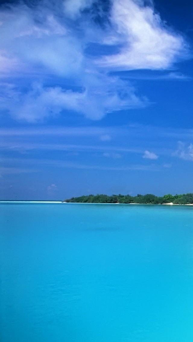 风景高清壁纸10274277 大海沙滩 风景壁纸 苹果手机 x