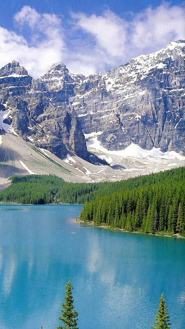 自然 风景 山水 天空 苹果手机高清壁纸 640x1136