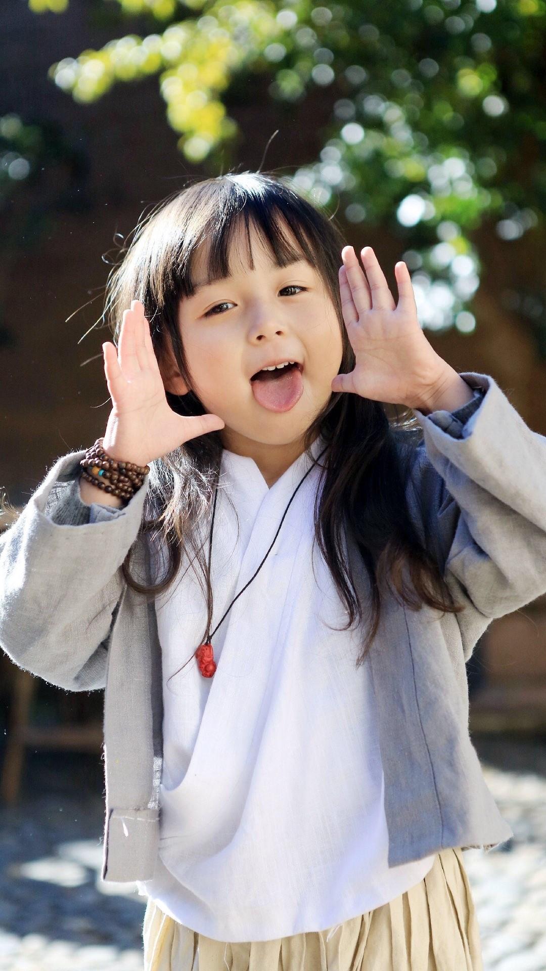 电脑上wap网:可爱 刘楚恬 小女孩 苹果手机高清壁纸 1080x1920_爱思