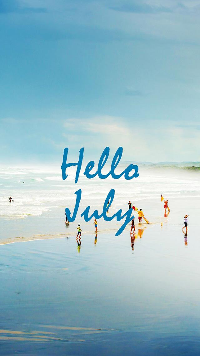 海滩 海水 蓝天 苹果手机高清壁纸 640x1136 - 足球