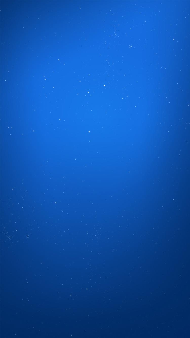星空 纯色 蓝色 壁纸 苹果手机高清壁纸 750x1334