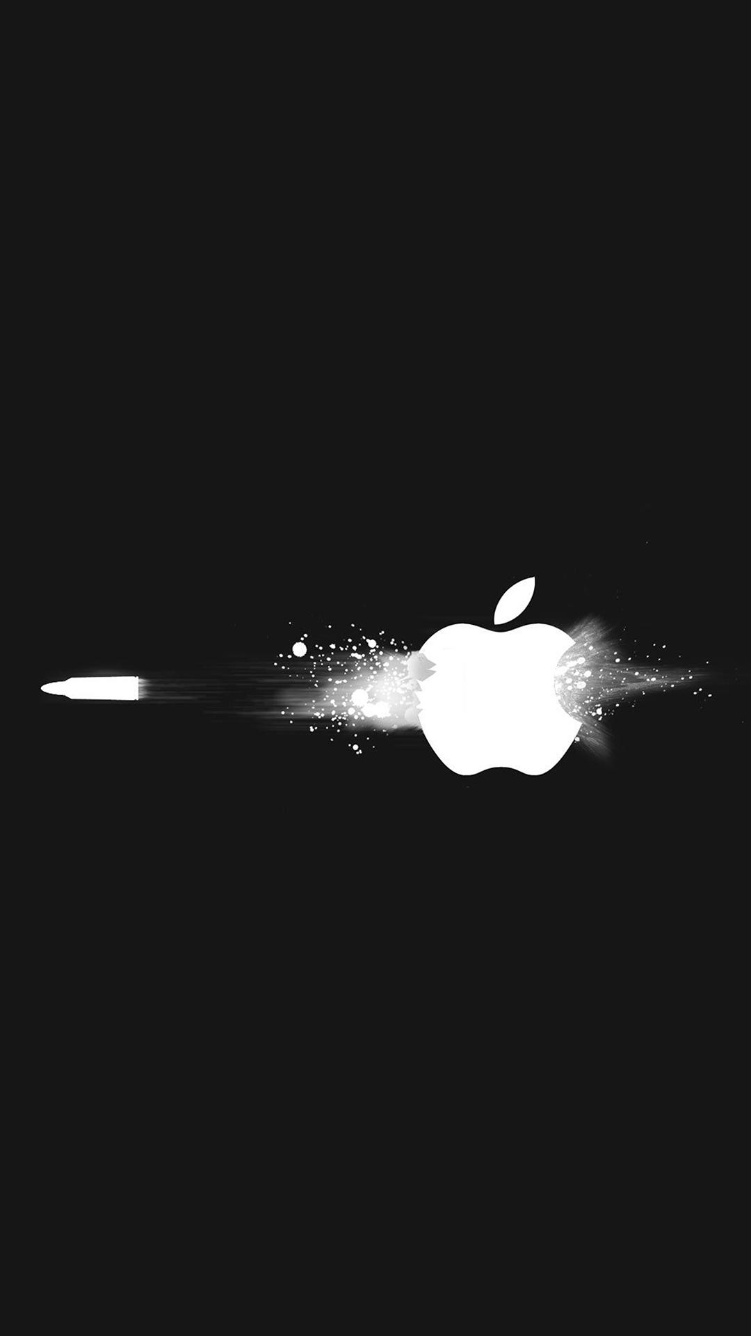 苹果logo 简约 创意 苹果手机高清壁纸 1080x1920