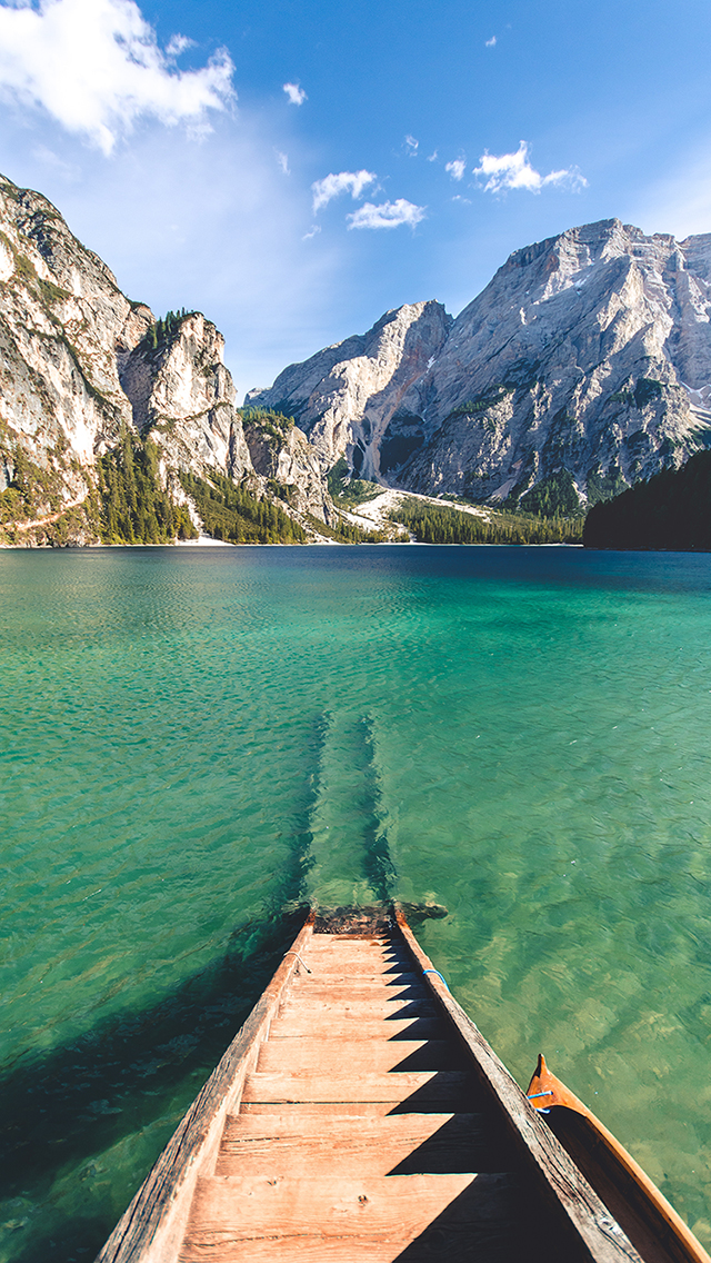 意境 唯美 风景 山水 清澈 苹果手机高清壁纸 640x