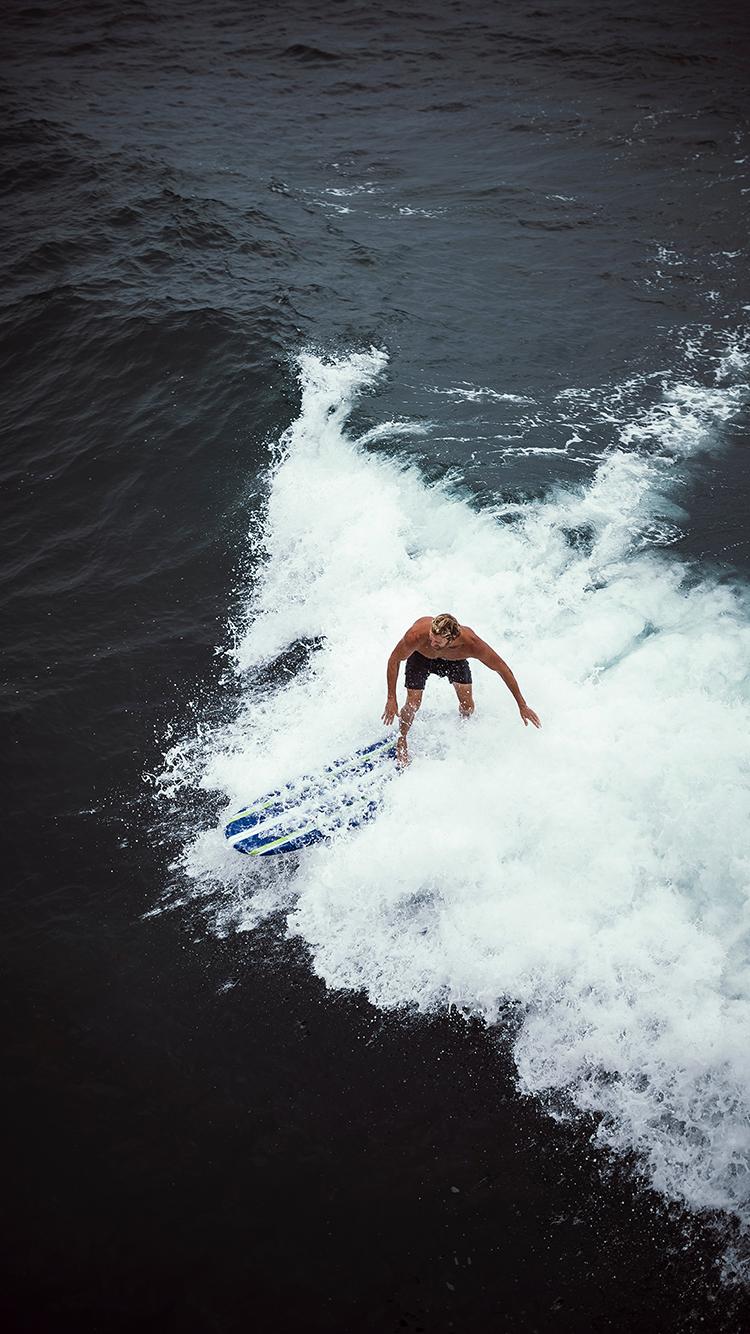 冲浪 大海 海浪 运动 苹果手机高清壁纸 750x1334