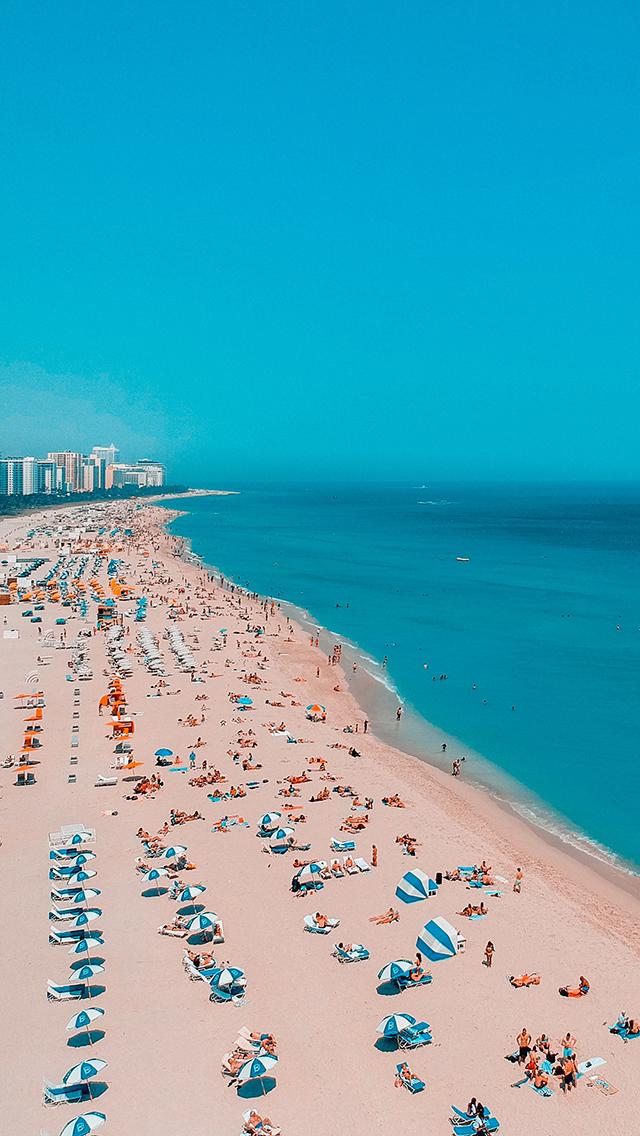 自然美景 海滩 度假 休闲 苹果手机高清壁纸 640x1136