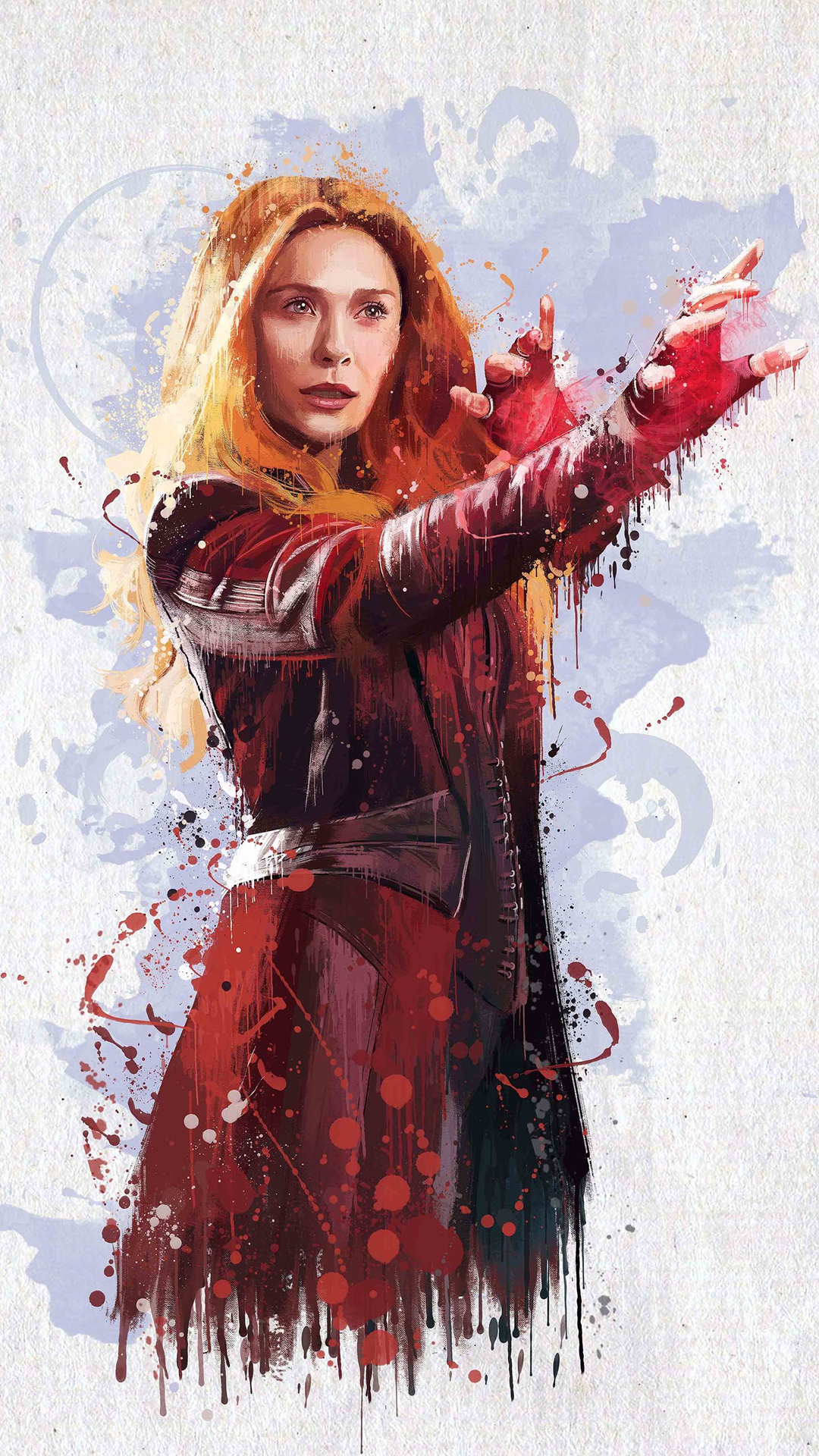 复仇者联盟3 旺达·马克西莫夫 绯红女巫 苹果手机 x图片