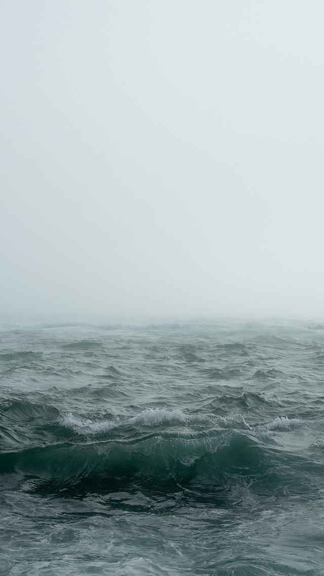 大海 海洋 海浪 海面 苹果手机高清壁纸 640x1136