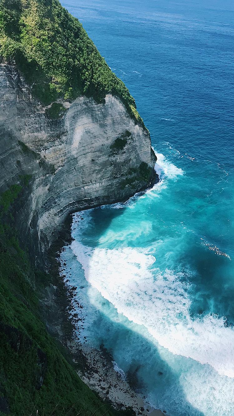 海峡 大海 海浪 海岸 苹果手机高清壁纸 750x1334