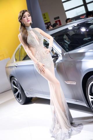 车模美女 美女