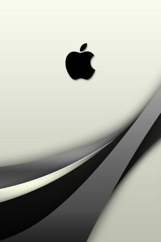 背景 苹果 logo 锁屏 图标 简洁 壁纸 科技 灰色