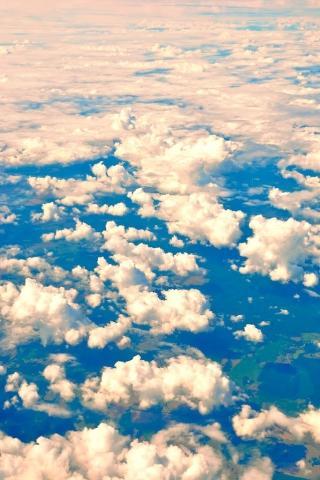 风景 黄色 云 云端