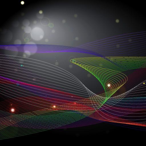 色彩 创意 流线