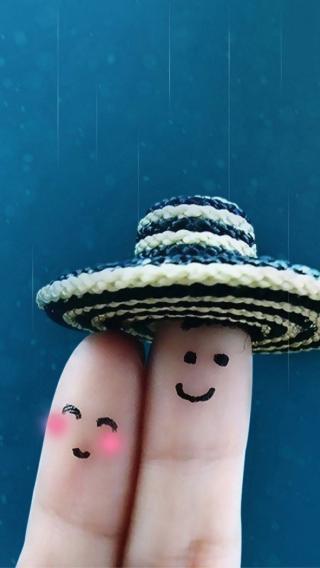 可爱手指-00110286156 甜蜜幸福 非主流壁纸