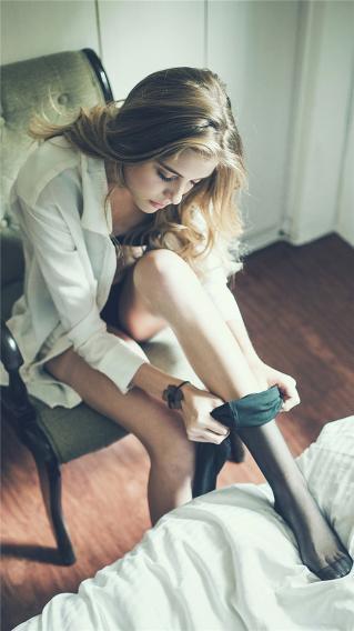 丝袜 性感 欧美 长发