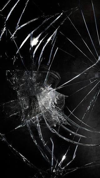 裂屏 玻璃 碎 破裂 纹路