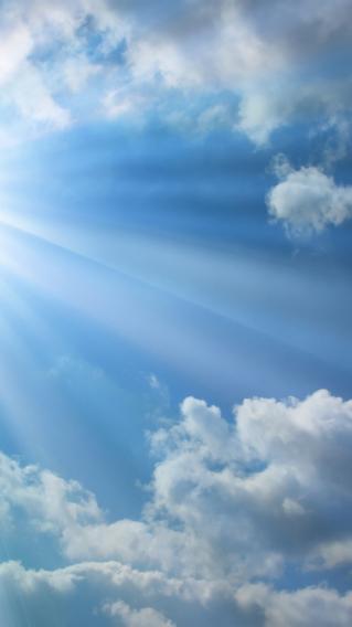 阳光 天空 云彩