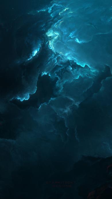 夜空 星空 唯美