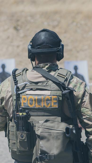 警察 军事 枪 射程 目标练习 战术
