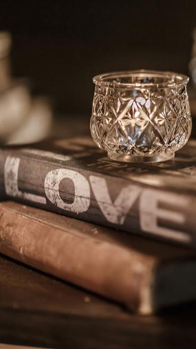 爱情 爱心 LOVE 怀旧 书本 酒杯