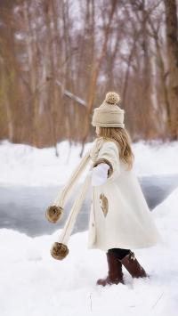 冬天 雪  乐趣 户外
