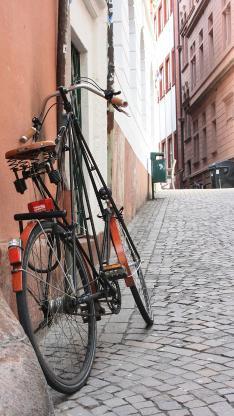 单车 街道 道路 城市 停靠