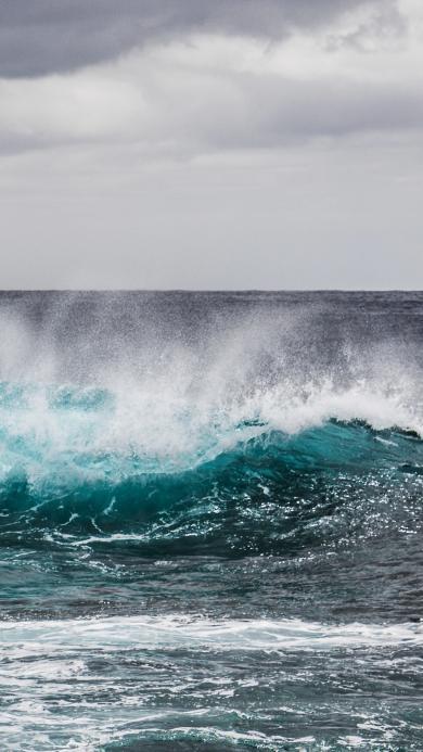 海浪 大海 蓝色 海水
