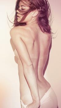 美女 性感 裸 背影 欧美