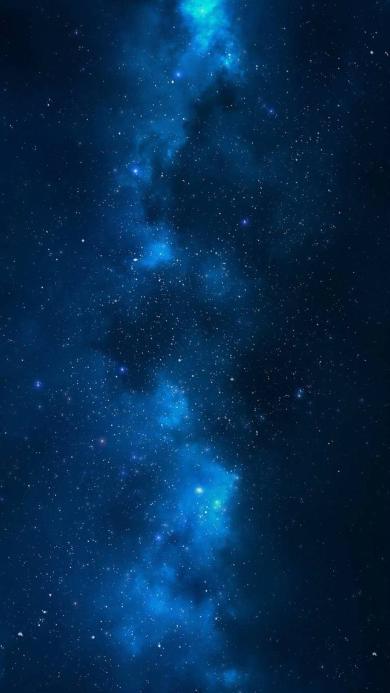 唯美意境 星空 银河