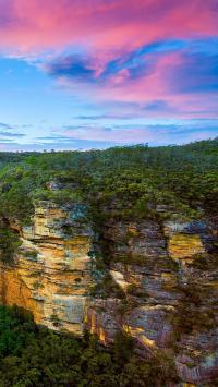 风景 云彩 自然风光峭壁
