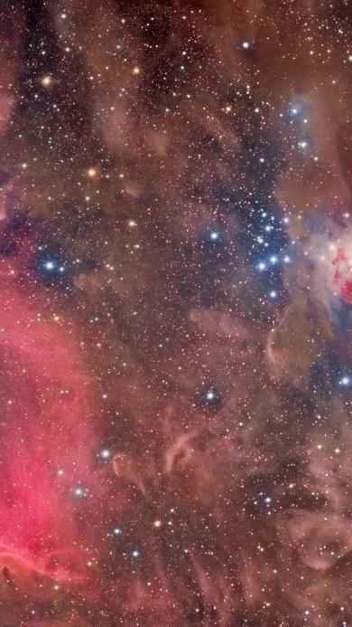 星云 太空 宇宙 紫色
