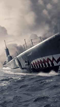 军舰 军事 海 船 黑白 航行