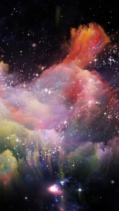 璀璨 银河 星云 星空