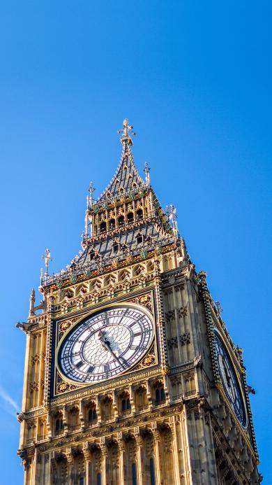 大笨钟 钟楼 伦敦 地标 大本钟