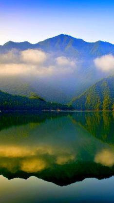 山水 白云 蓝天 自然
