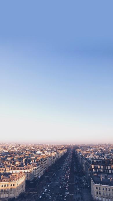 城市 蓝天 车辆 建筑