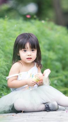 哈琳 小天使 萌娃 可爱