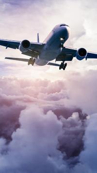 飞机 飞行 军事 蓝天白云 天空 阳光
