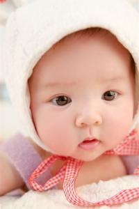 萌娃 大眼 可爱 宝宝 孩子 帽子