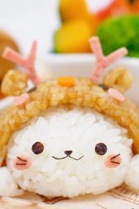 软萌小兔子饭团 美味