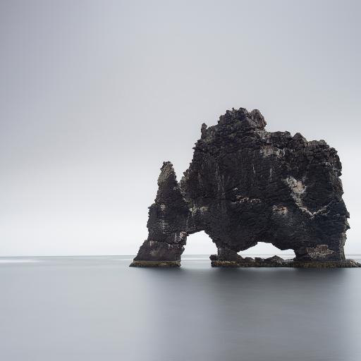 礁石 大海 风景 大自然