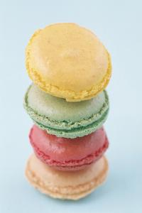 马卡龙 甜品 色彩 小清新