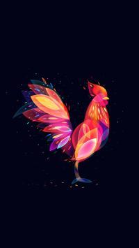 创意 鸡 科幻 色彩