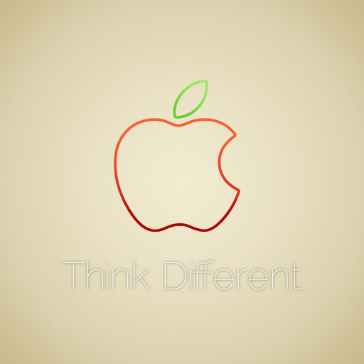 apple think different 苹果