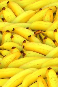 香蕉 水果 黄色 堆叠 食物