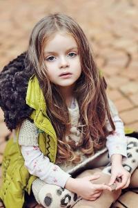 俄罗斯 模特 米兰库尔尼科娃 金发 小公主