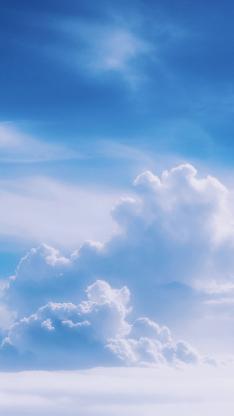 天空 蓝天 白云 云朵