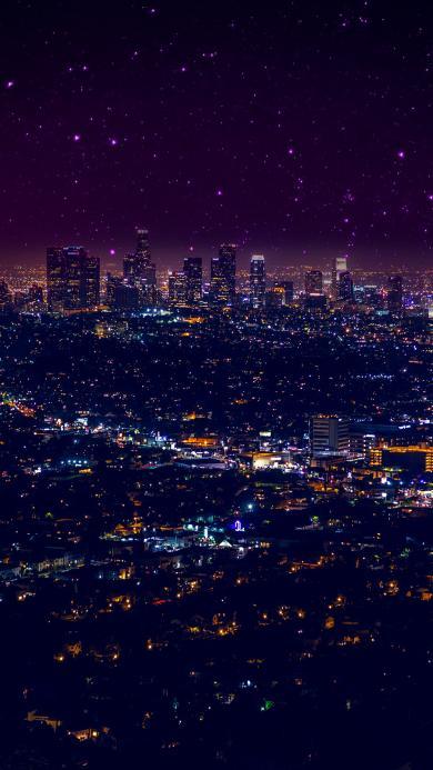 城市 夜景 灯光 都市 繁华 建筑