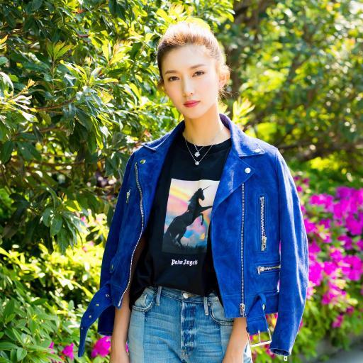 江疏影 街拍 时尚 演员 明星 气质 艺人